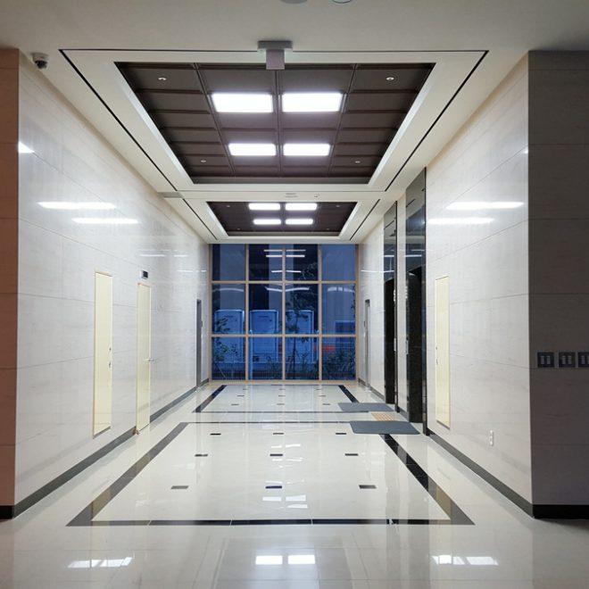 Dialysis center Plitvic: Corridor