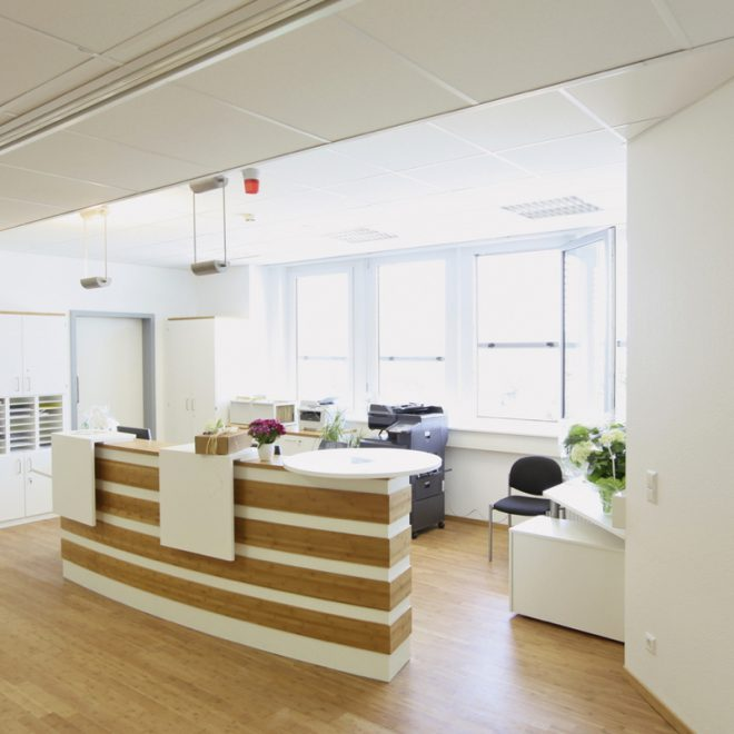 Dialysis Center Ya Aburnee Reception Desk