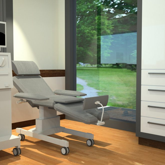 Dialysis center Plitvic: Therapy rooms